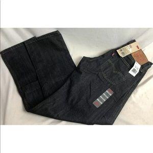 Levi's 514 Men's 31 x 32 Slim St dark jeans NEW